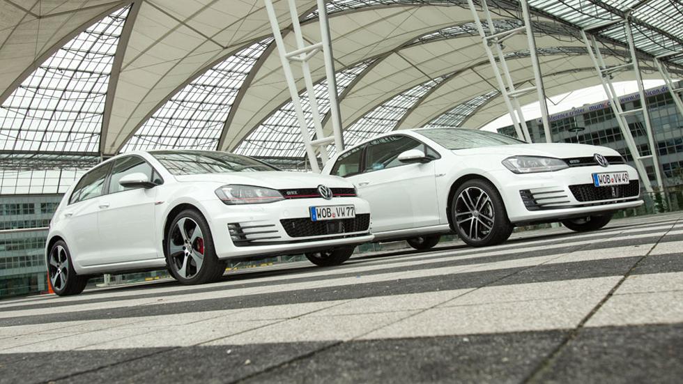 Comparativa: VW Golf GTi vs GTD, en guardia