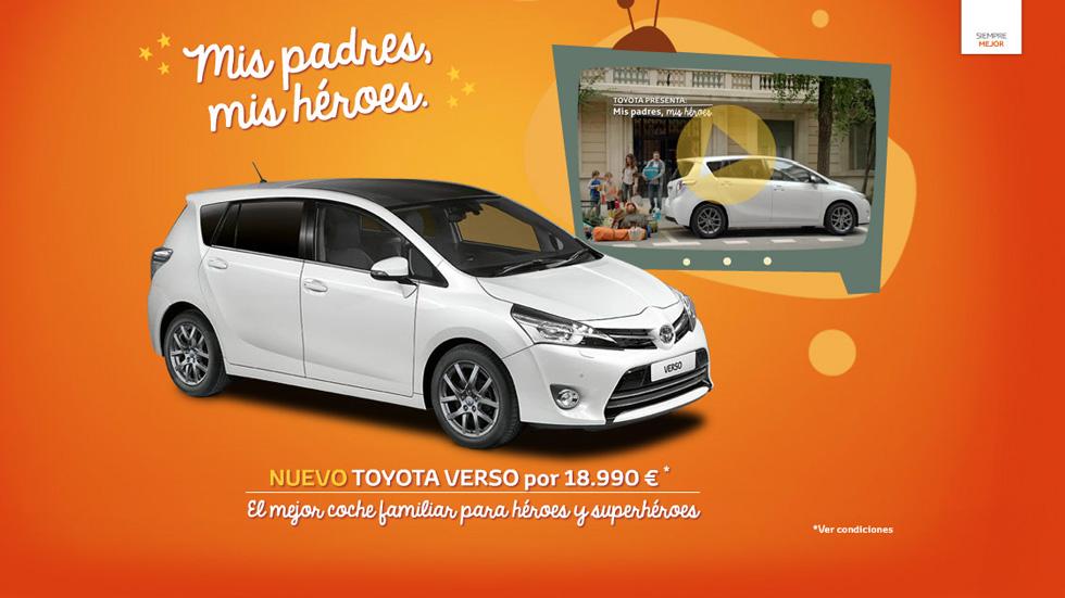 Concurso: el Toyota Verso premia a los SuperPadres