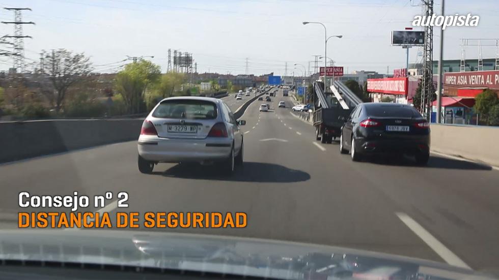 Consejos al volante: adapta la velocidad