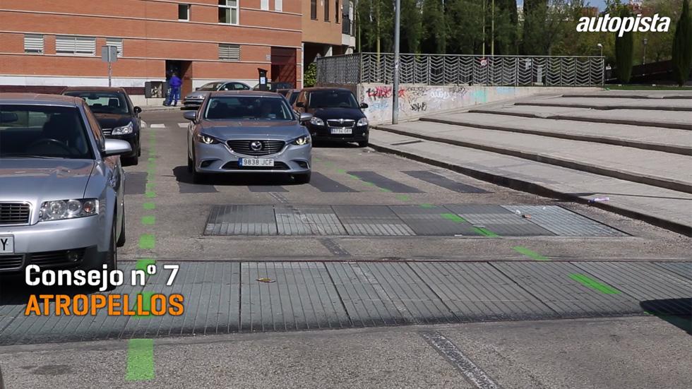 Consejos al volante: stop al atropello, peatones como el colectivo más vulnerable