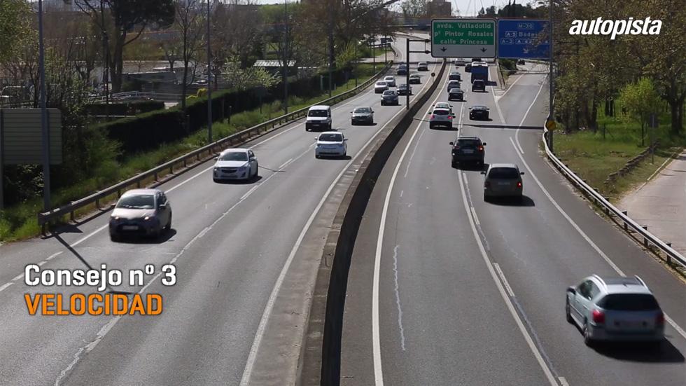 Consejos al volante: la velocidad y sus circunstancias