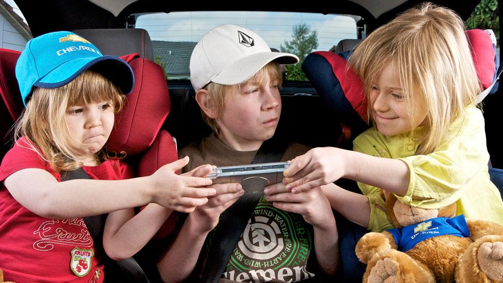 viajes largos con niños