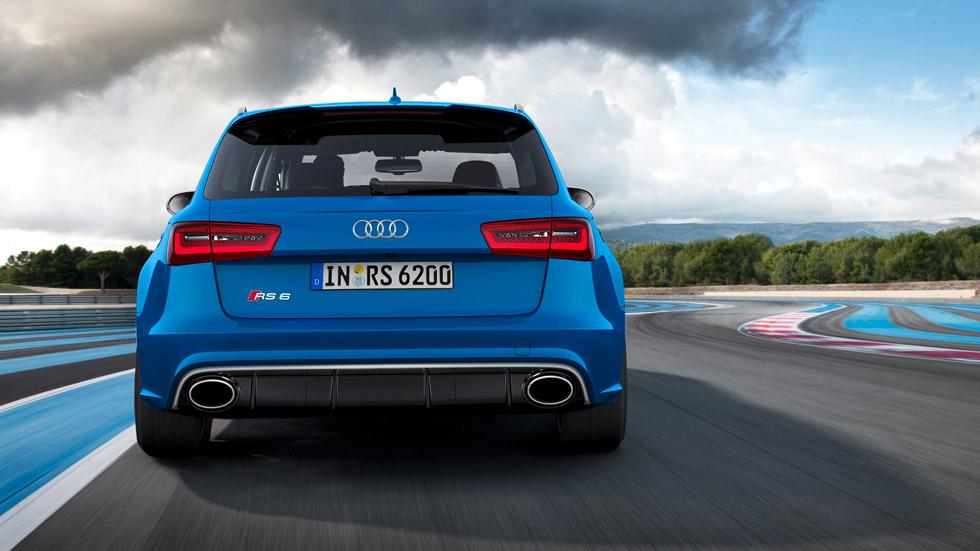 Contacto: Audi RS6, musculatura funcional