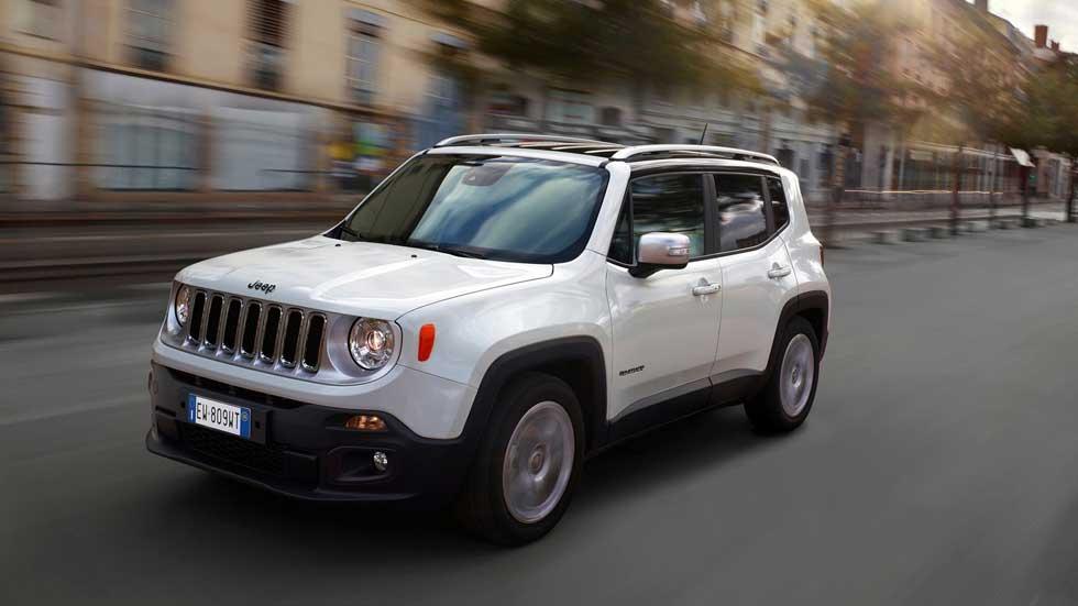 Contacto: Jeep Renegade, pequeño SUV de diseño