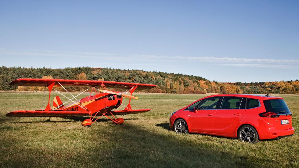 Contacto: Opel Zafira Tourer biturbo, familia, ¡a volar!