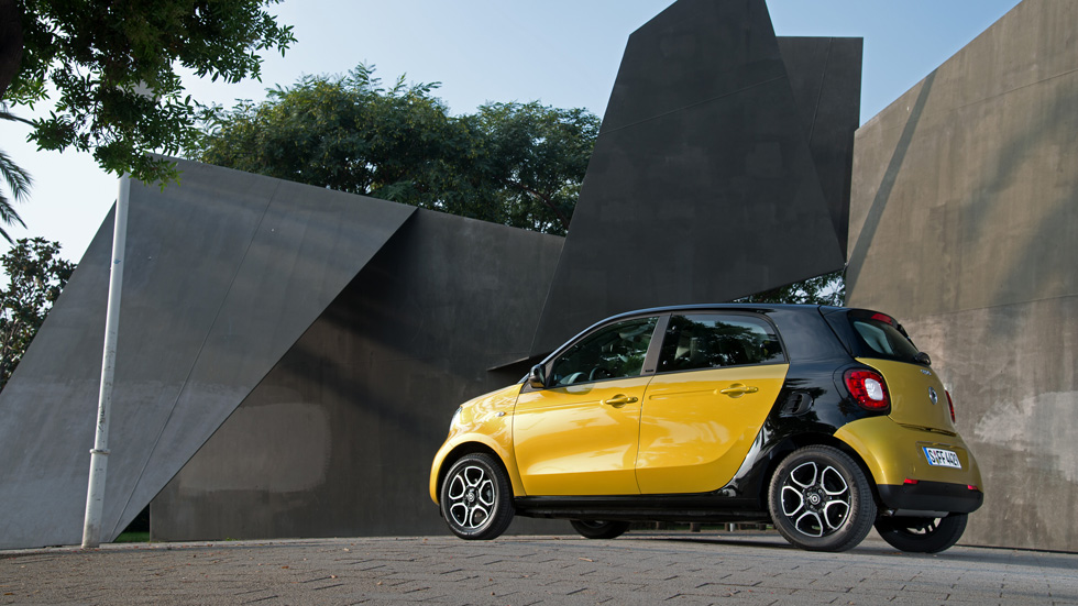 Smart Forfour, paso al coche Smart de cuatro plazas
