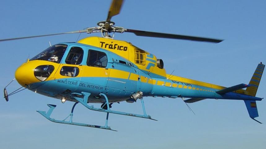 Cuatro nuevos radares de la DGT para sus helicópteros