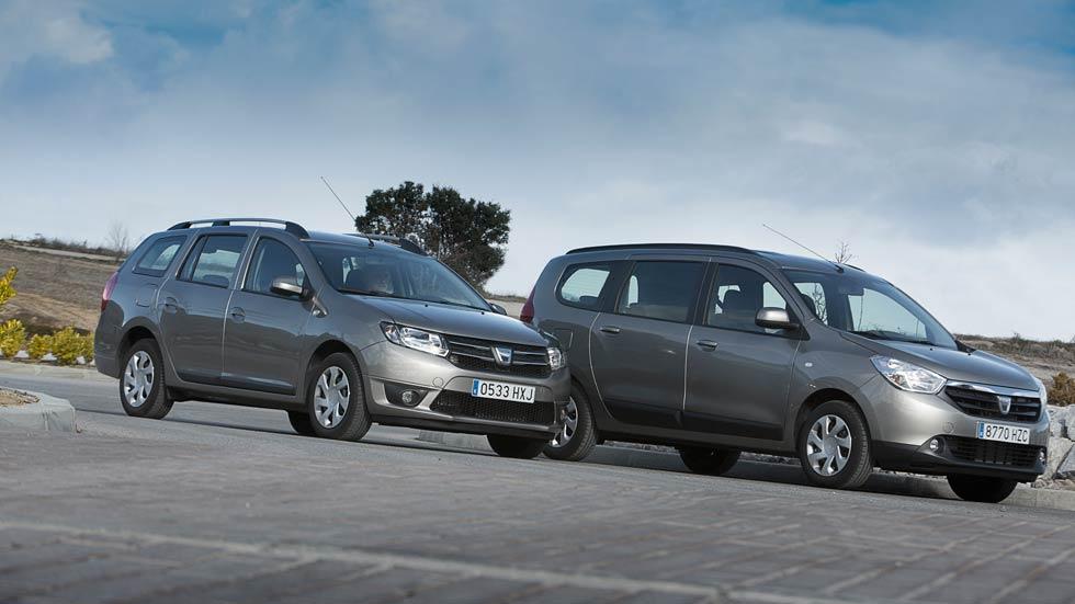 Comparativa low cost: Dacia Lodgy vs Dacia Logan MCV