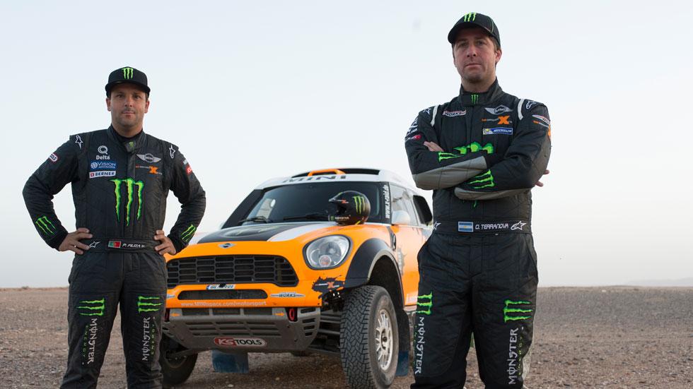 Dakar 2014: Mini le pone fácil la victoria a Roma y Coma sigue fuerte
