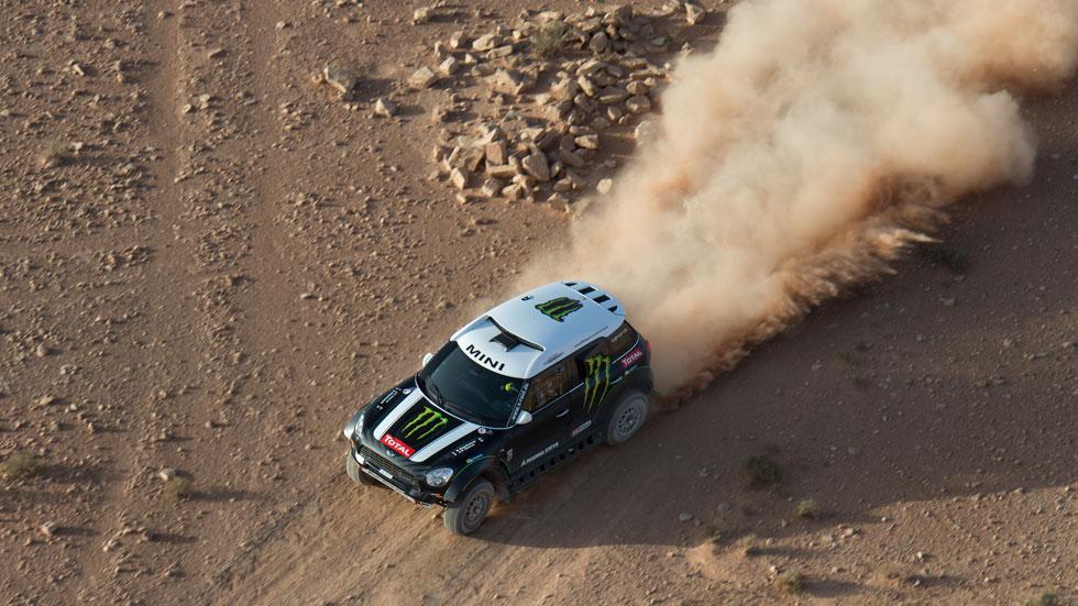 Dakar 2014: los españoles Barreda y Sainz, protagonistas
