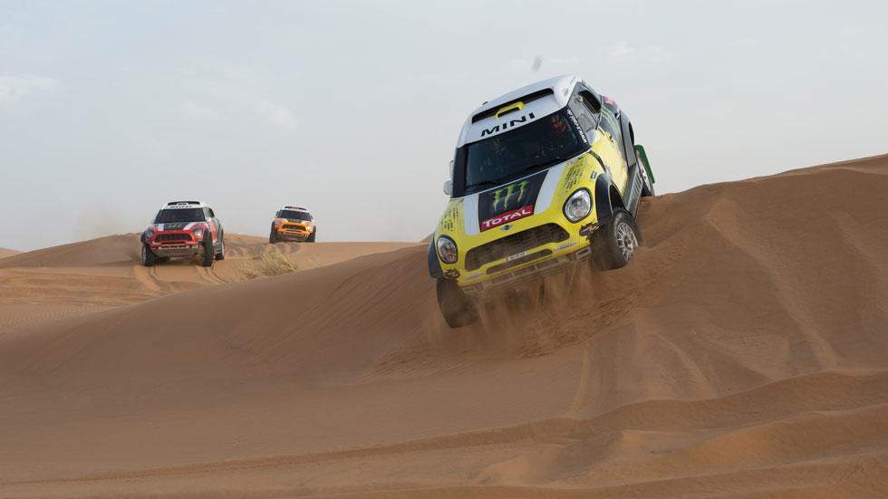 Dakar 2014: Barreda y Roma, golpe de efecto en la tercera etapa