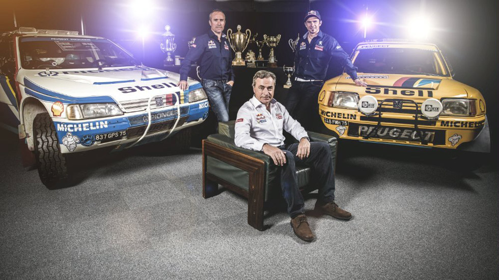 Dakar 2015: Peterhansel completa el 'Dream Team' de Peugeot