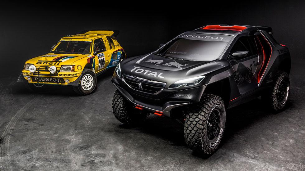 Rallyes TT: Peugeot 2008 DKR, el nuevo felino para el Dakar