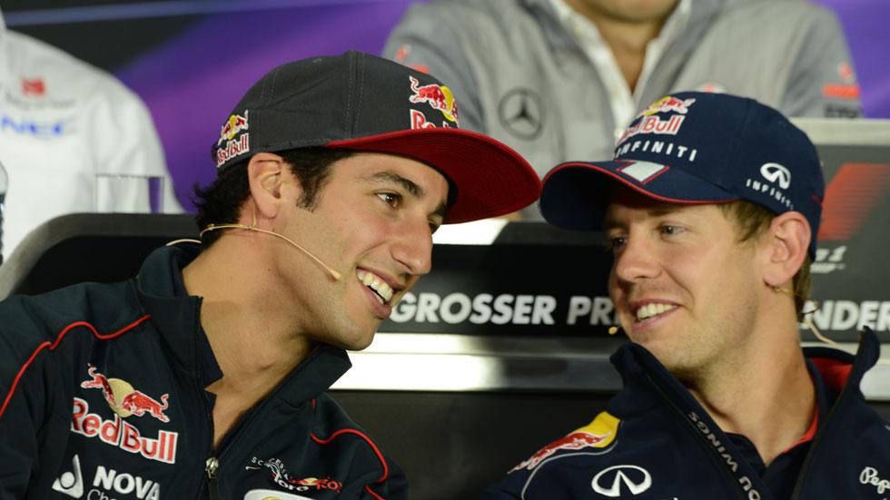 Daniel Ricciardo pilotará un Red Bull en 2014