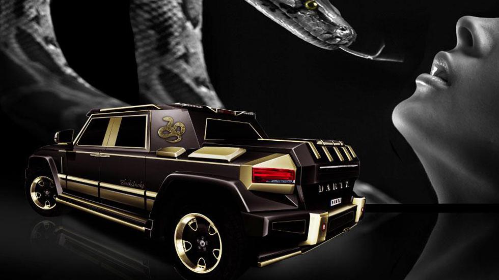 Dartz Black Snake, el coche del año de la serpiente