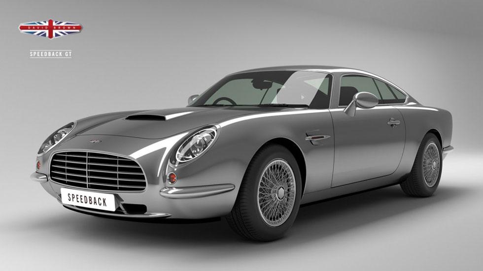 David Brown Speedback GT, entre Aston Martin y Jaguar