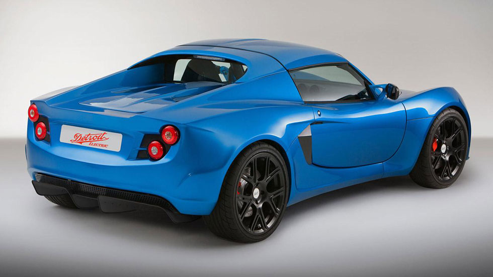 Detroit Electric SP: 01, un deportivo eléctrico con aires de Lotus