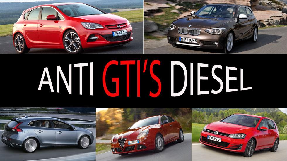 Los anti GTI: los compactos Diesel más potentes