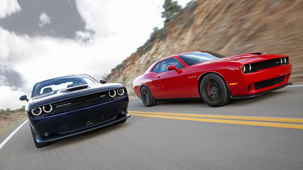 Dodge Challenger SRT 2015, la esencia del muscle car americano