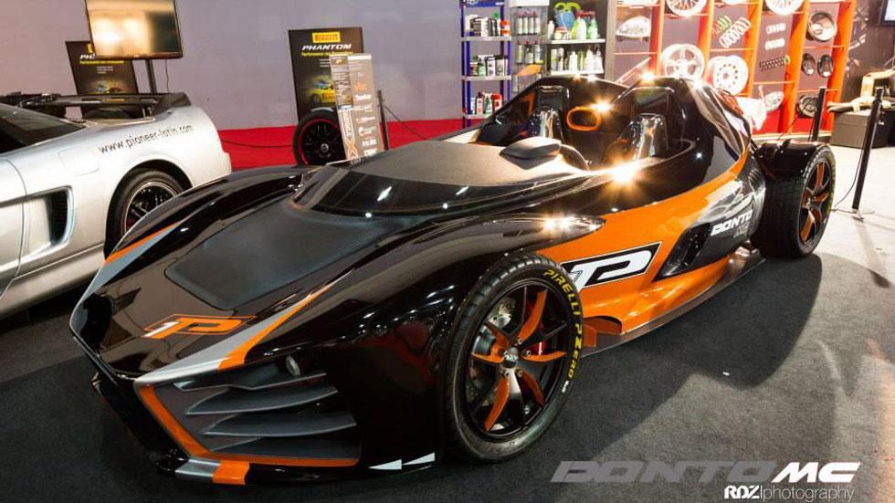Donto P1, duro competidor del KTM X-Bow