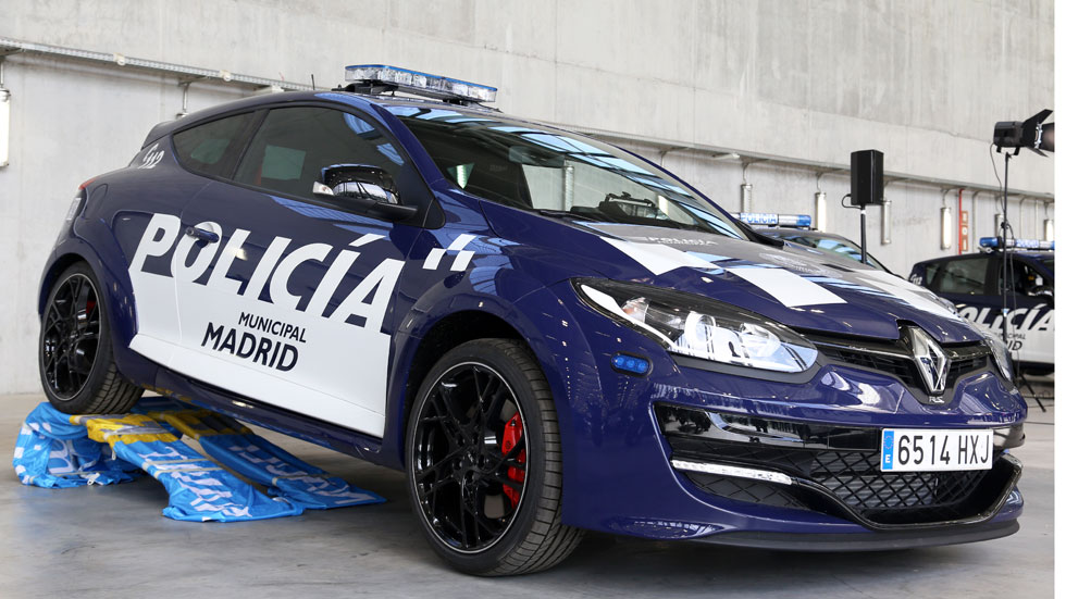 Dos Renault Mégane RS para la Policía Municipal