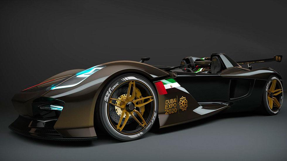 Dubai Roadster: el rival del KTM X-Bow, se descubre