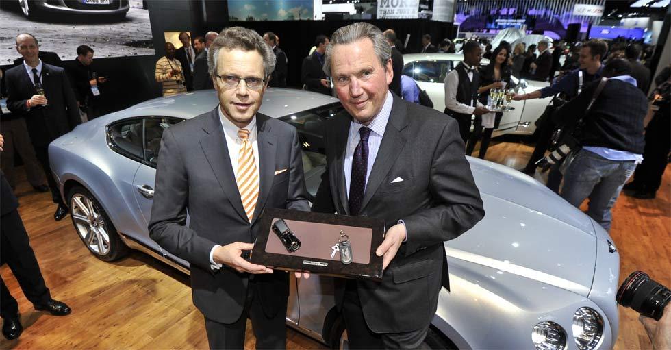 Nuevo responsable en Bentley y Bugatti