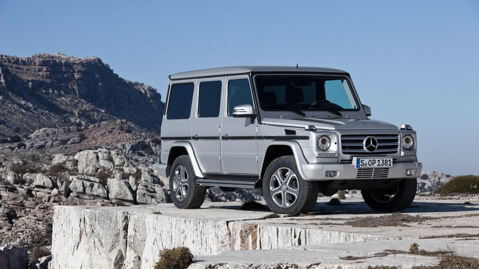 La nueva flota de todoterrenos del ejército suizo serán Mercedes Clase G