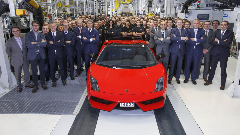 El Lamborghini Gallardo nos dice adiós