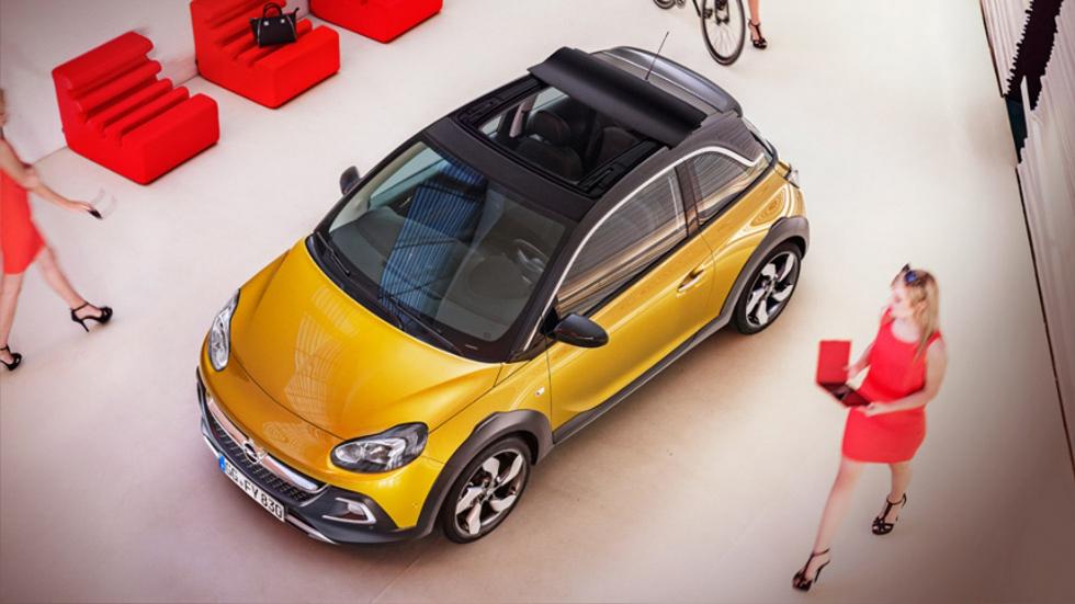 El nuevo Opel Adam Rocks, con piezas de impresoras en 3D