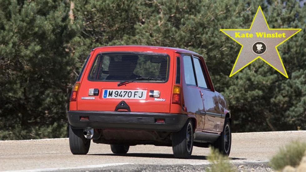 El primer coche de los famosos: Kate Winslet (Renault 5)
