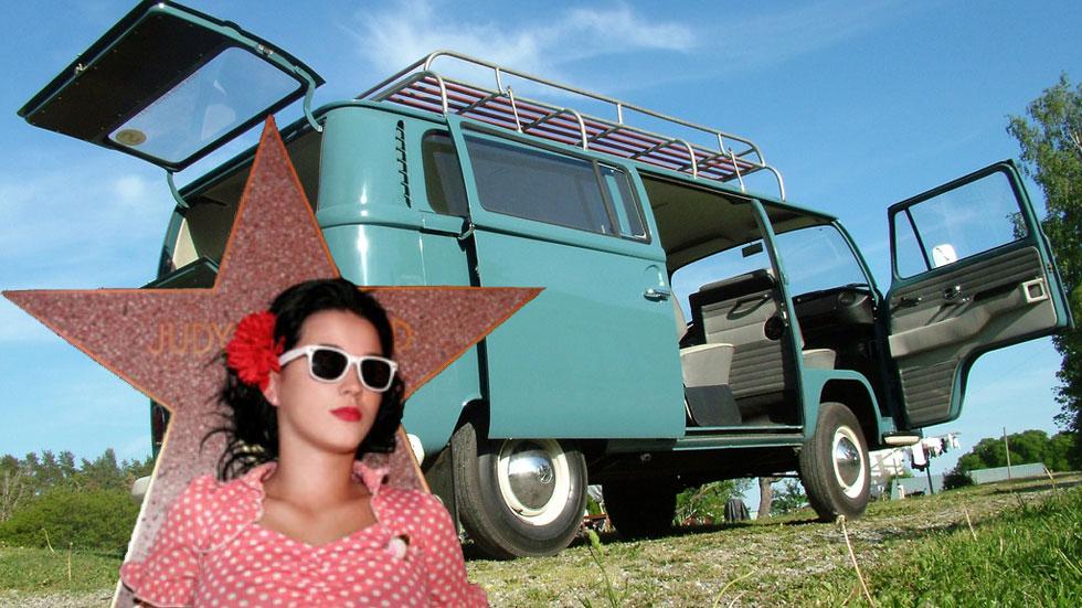 El primer coche de los famosos: Katy Perry (VW Combi)
