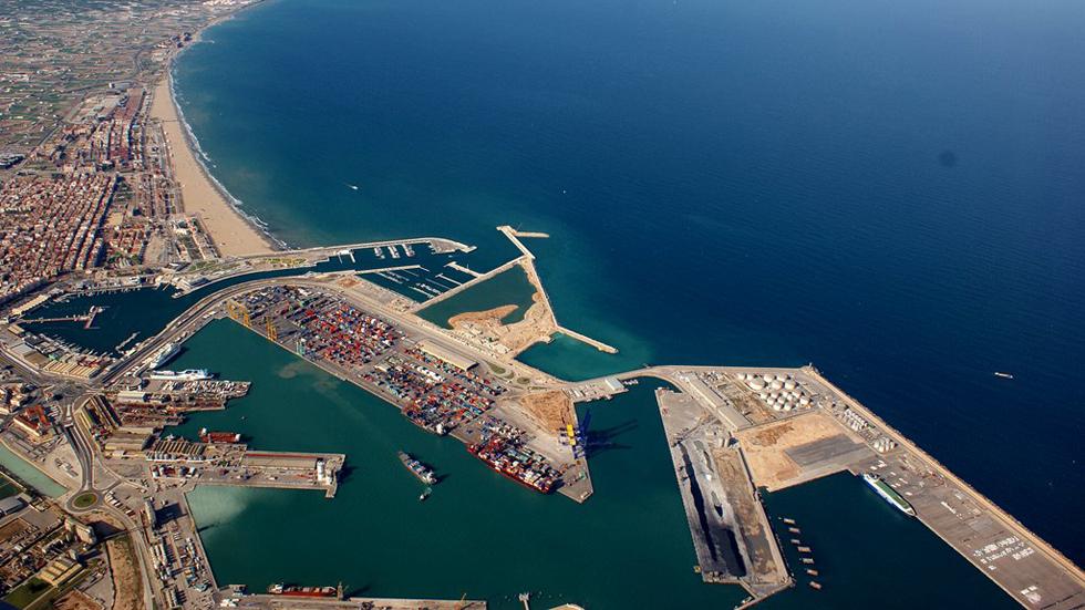 El Puerto de Valencia, el mejor para el tráfico de automóviles