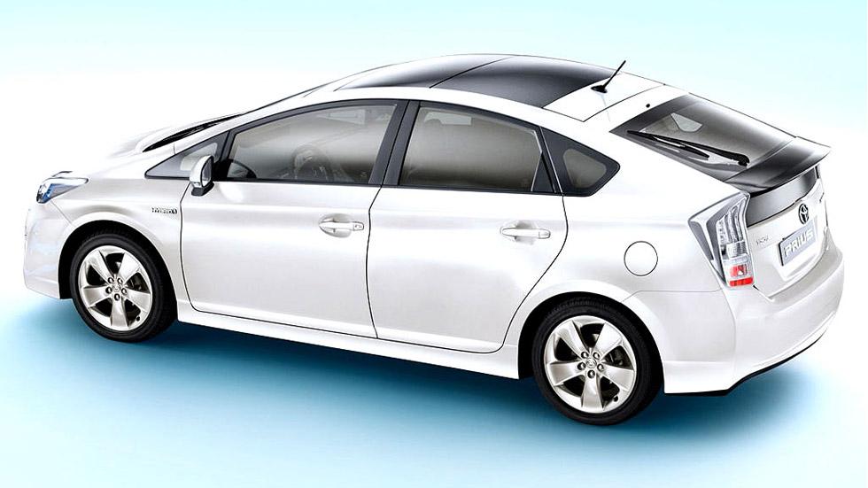 El taxi Toyota Prius explotado en Barcelona, estaba modificado