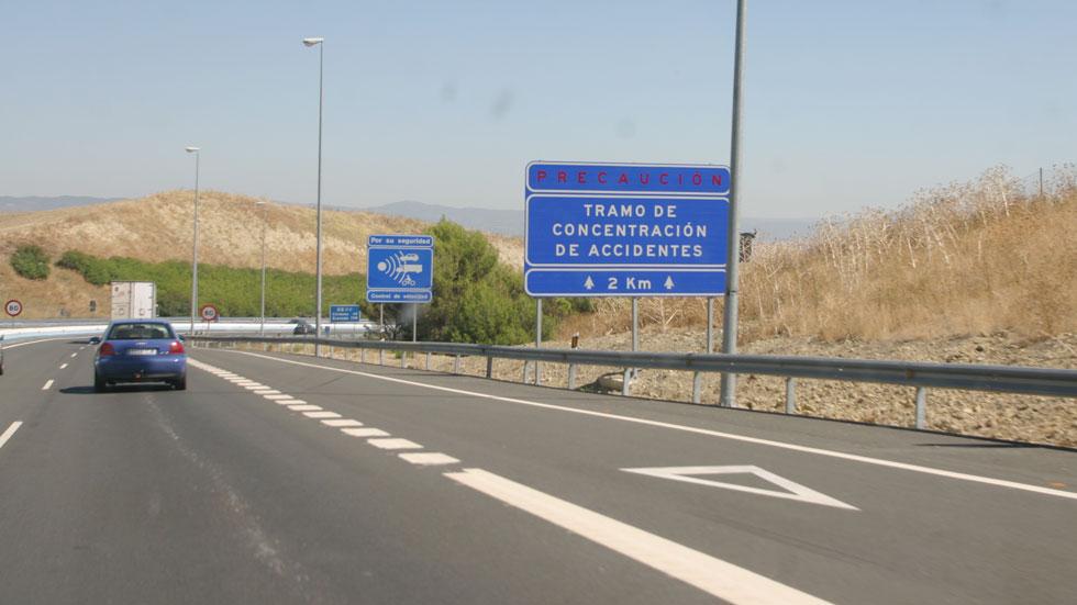 El tráfico en autopistas, bajo mínimos