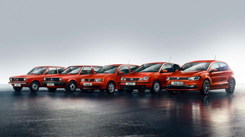 El Volkswagen Polo cumple 40 años