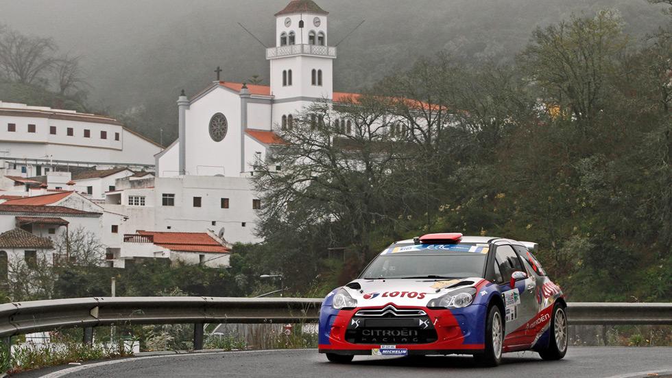 Europeo de Rallyes: Kubica manda en Canarias
