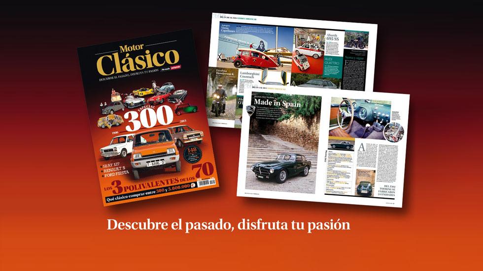 Especial número 300 de Motor Clásico