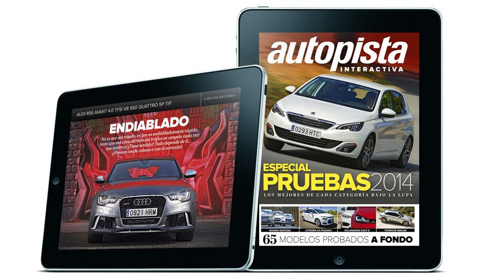 Especial Pruebas de AUTOPISTA en versión digital, ya disponible