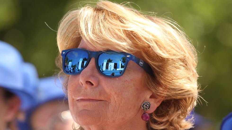 Esperanza Aguirre no será finalmente juzgada por su incidente de tráfico