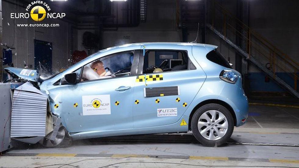 EuroNCAP desvela los modelos con la máxima calificación en sus pruebas de choque
