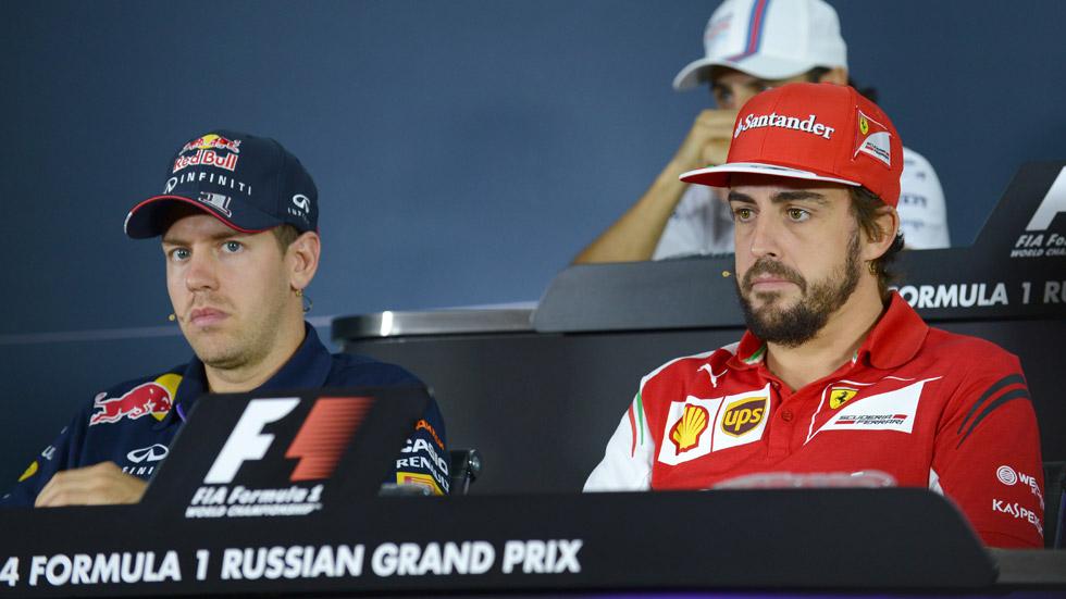 Alonso y Vettel: la batalla continuará… por sus sueldos