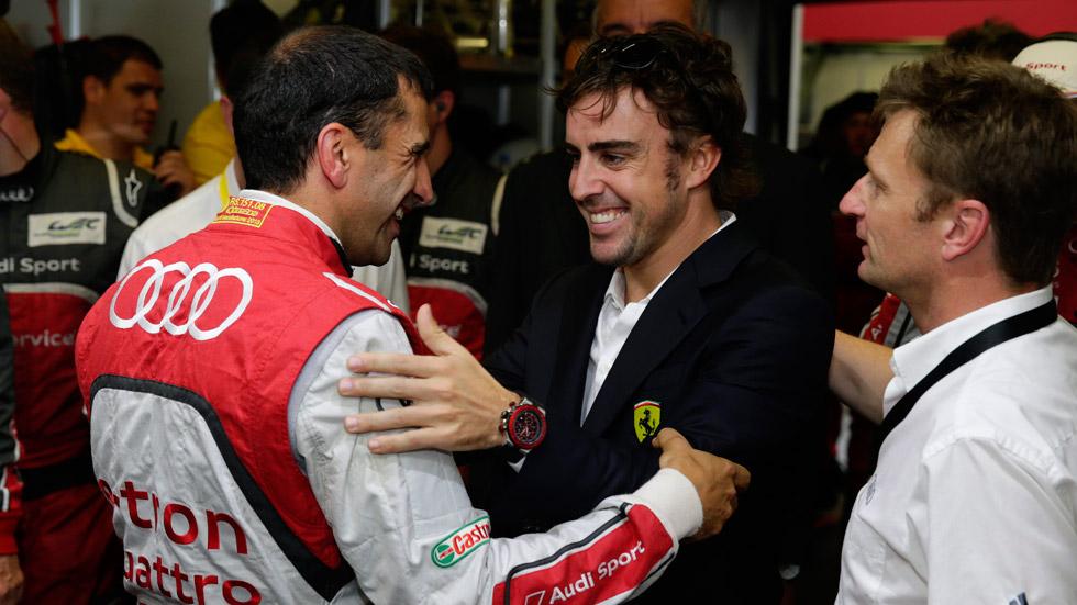 Audi y Fernando Alonso… ¿juntos en la Fórmula 1 en 2016?