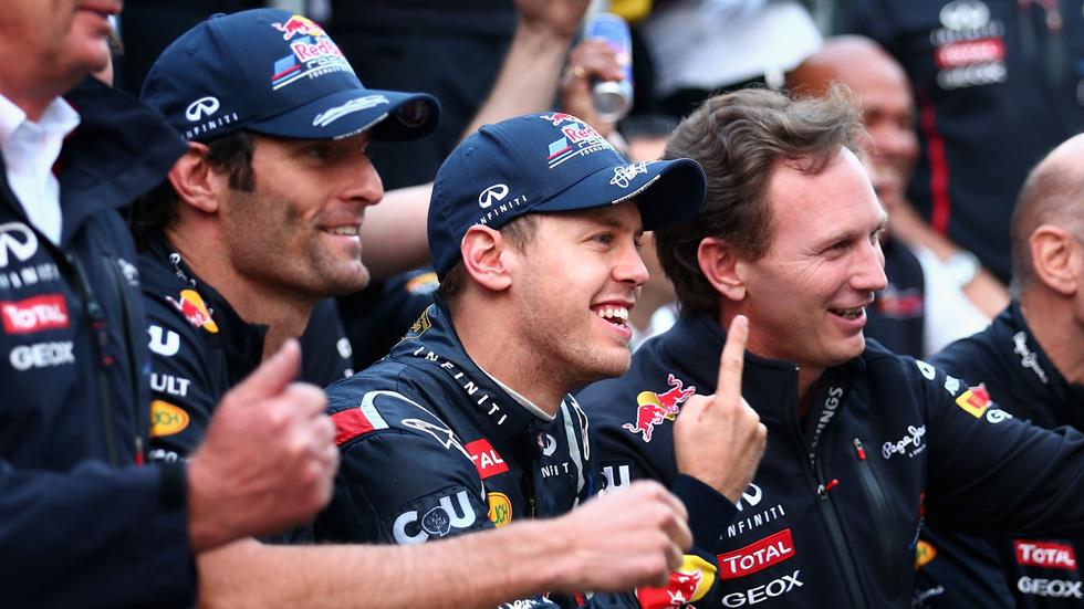 Christian Horner seguirá en Red Bull hasta 2017