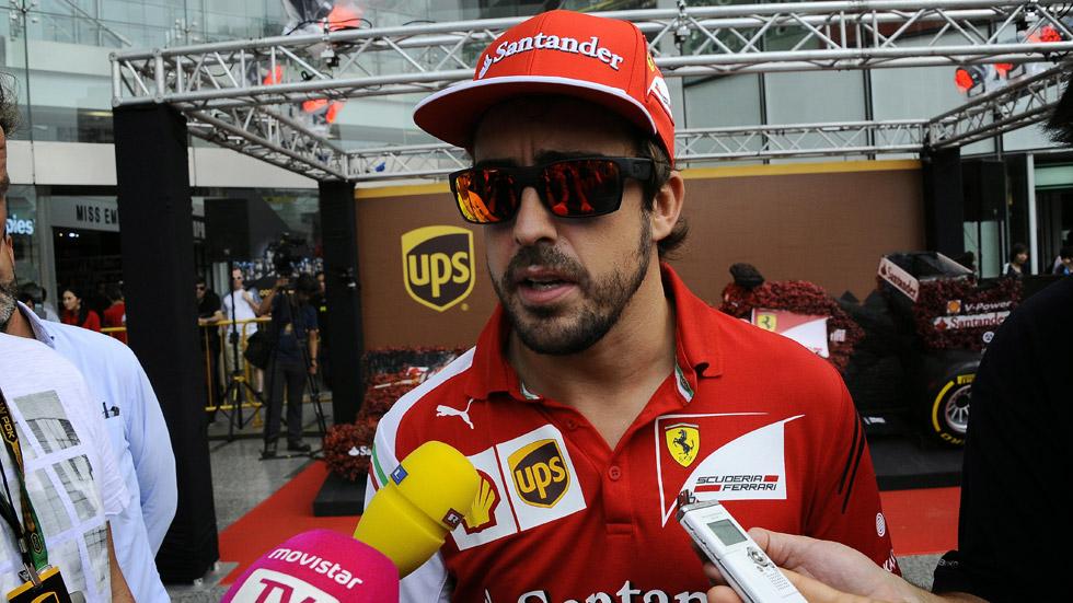 """Fernando Alonso: """"El podium va a estar complicado en Singapur"""""""