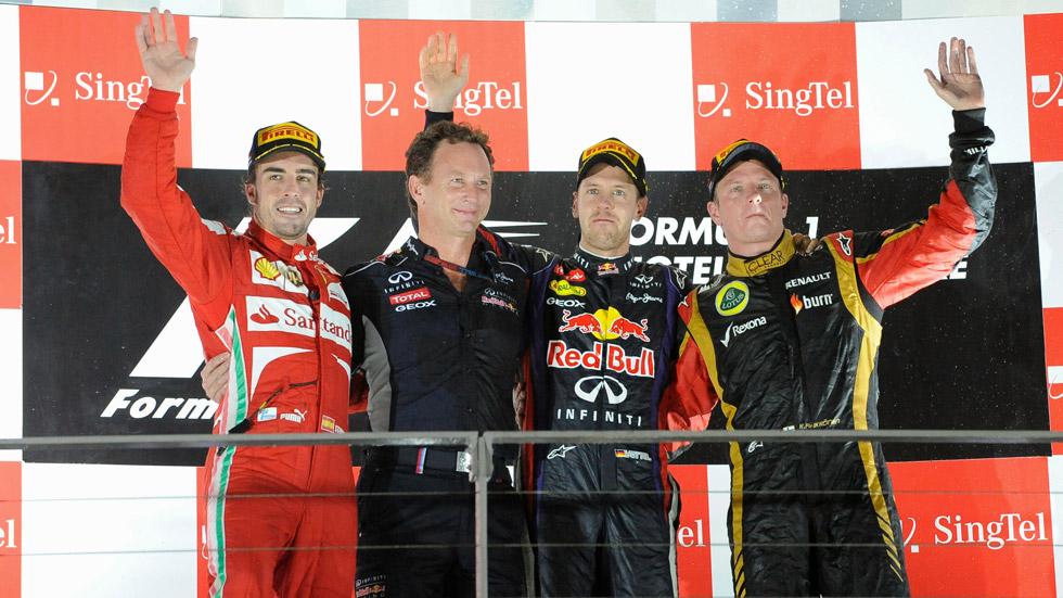 Análisis GP Singapur: Sebastian Vettel, a otro nivel