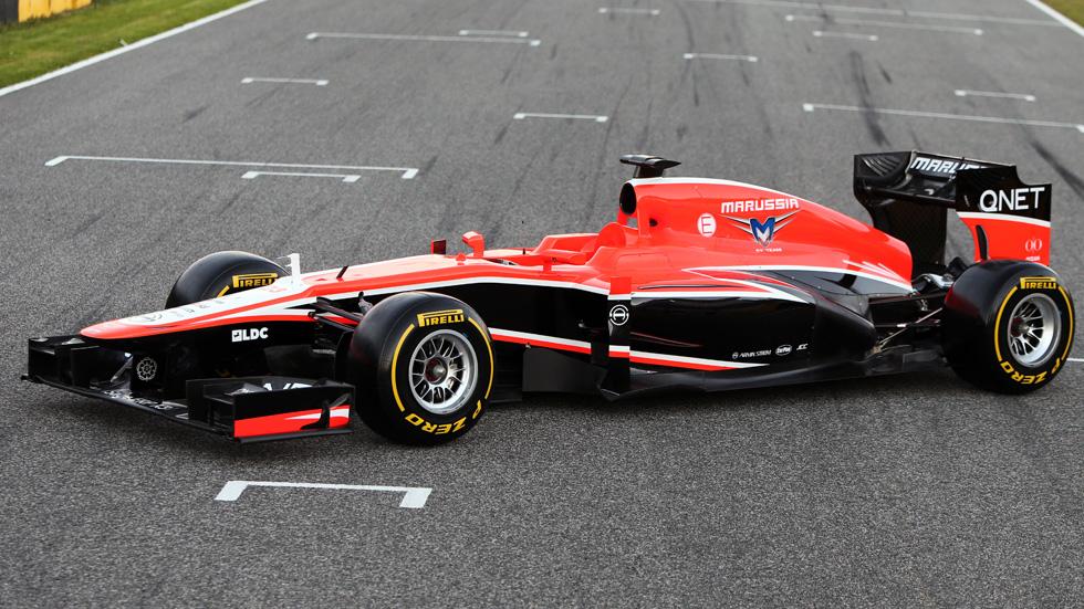 Marussia MR02: el monoplaza ruso, por fin con KERS