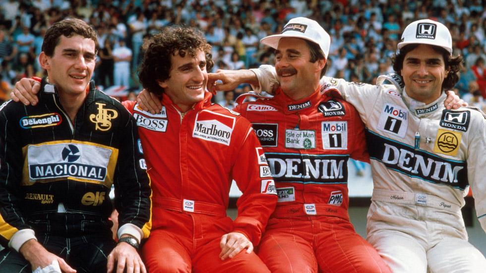 F1: los 10 mejores pilotos de la historia