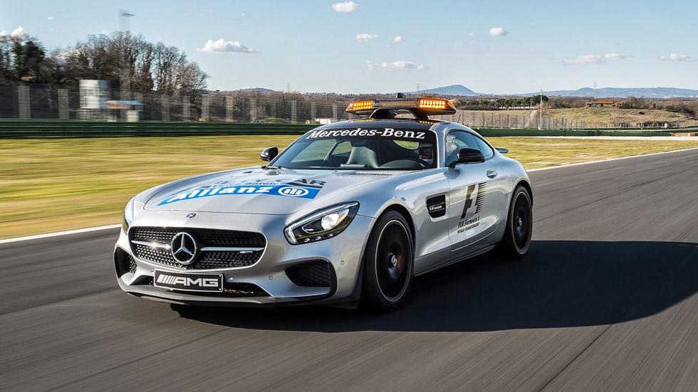 Mercedes AMG GT S, el nuevo Safety Car de la F1