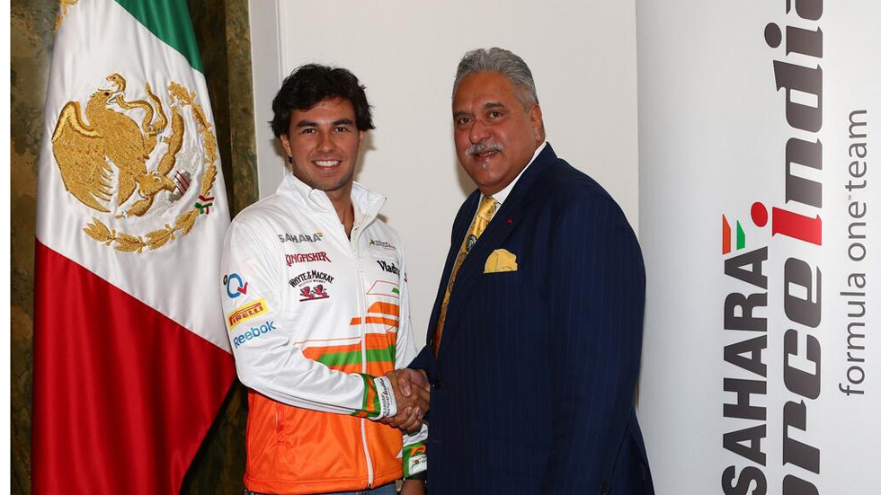 F1: Sergio Pérez, a Force India